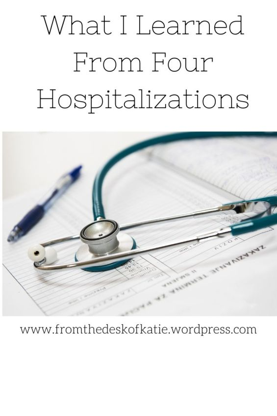 What I learned from four hospitalizations